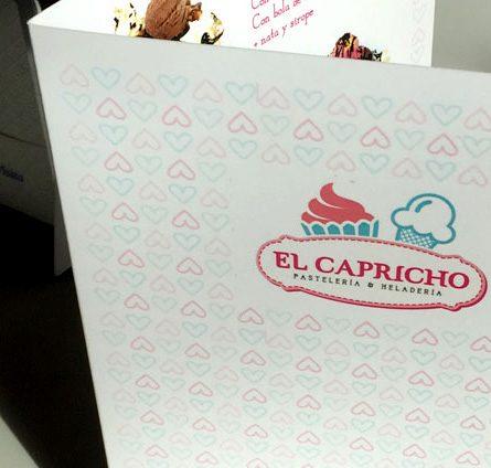 Diseño de imagen de marca e interiorismo para El Capricho