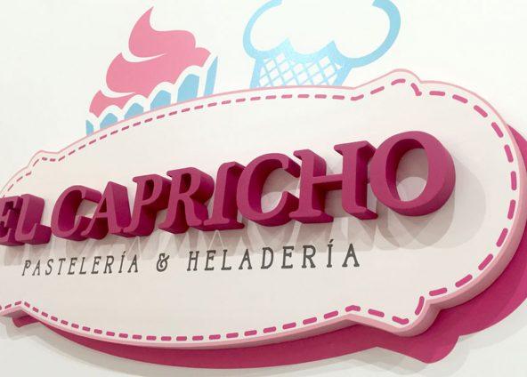 Diseño de logotipo para El Capricho