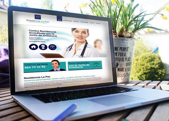 Diseño web Residencia La Paz