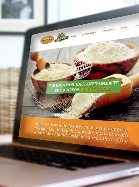 Diseño web Panceliac