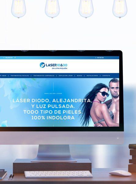 Diseño web de centro de estética