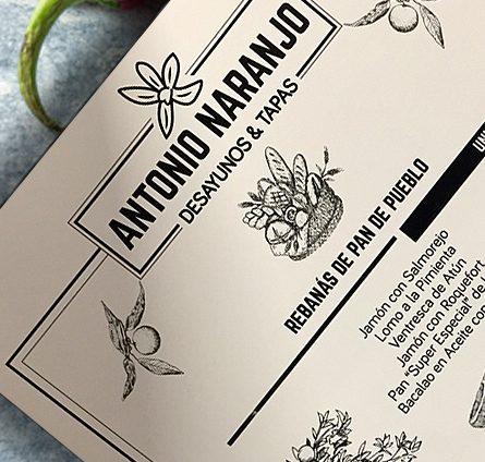 Diseño de logotipo para Antonio Naranjo