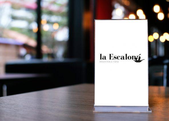 Diseño de marca para La Escaloná