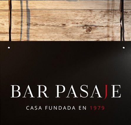 Diseño de marca bar Pasaje, Sevilla