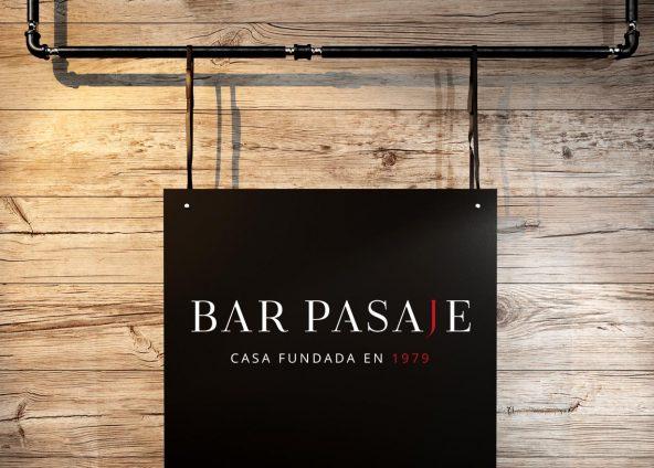 Logo bar Pasaje, Sevilla