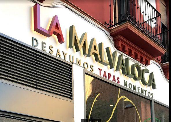 Corpóreo exterior gastrobar La Malvaloca
