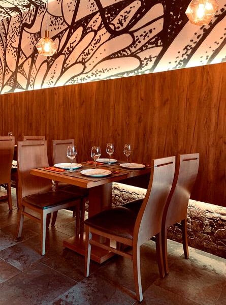 Decoración restaurante japonés Yamazaki