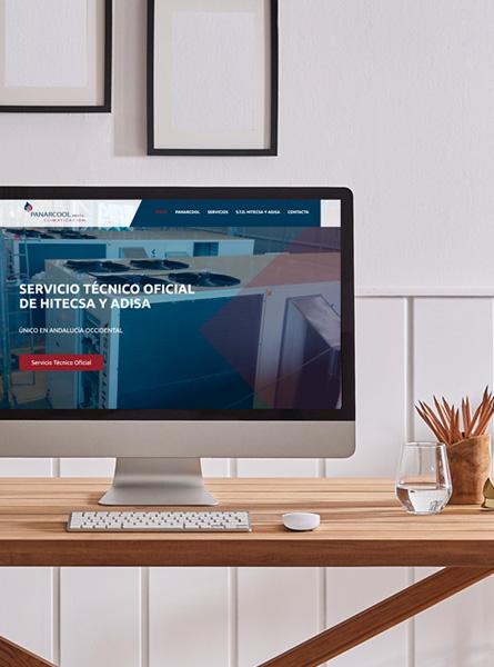 Diseño web Panarcool